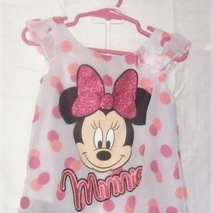 #59 Black,White&Pink Minnie Mouse Outfit